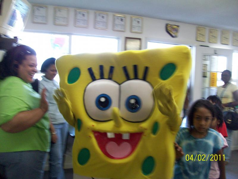 Grand Re-opening of 1000' Dojo with Sponge Bob Photo #10