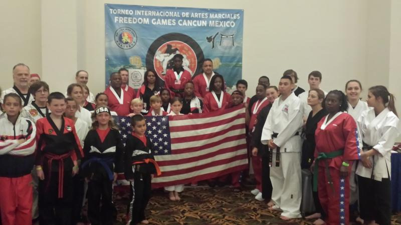 U.S. National Martial Arts Team In Mexico # 1